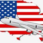 アメリカ旅行の図