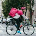 フードパンダの自転車